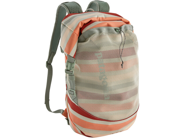 Patagonia Planing Roll Top Mochila L, water ribbons/new adobe